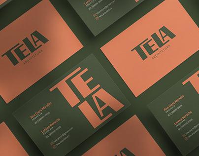Tela Arquitetura - Visual Brand