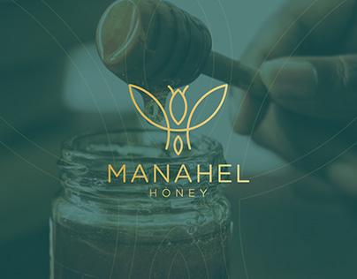 MANAHEL - HONEY VISUAL IDENTITY