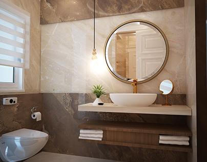 classic bathroom villa design