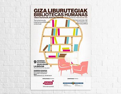"""Gráfica """"Bibliotecas Humanas"""""""