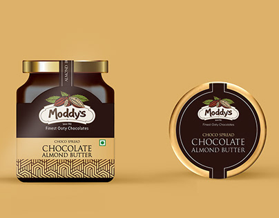 MODDYS - Choco Spread Packaging Design