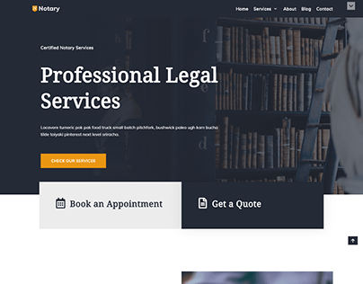 Notary Landing Page