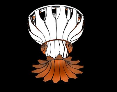 Wunder Chandelier by Wunderwurks Design