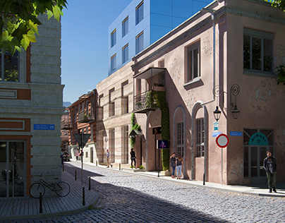 Hotel on Leselidze Str. Old Tbilisi