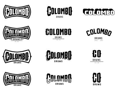 COLOMBO DRUMS . Branding