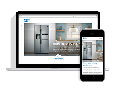 Beko Refrigerators Microsite Project by SHERPA