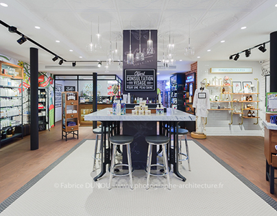 Kiehl's Paris by Media6 Agencement Shop fittings