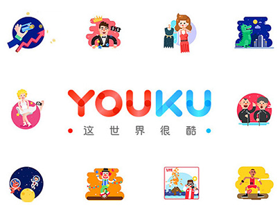 Animation for Youku logo