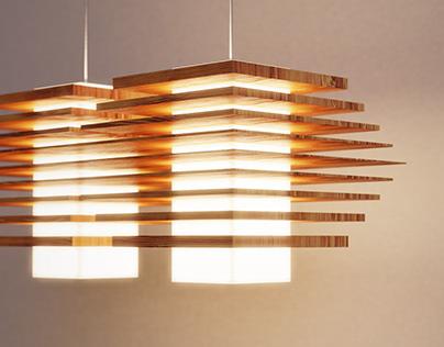 Wood Detailed Lighting