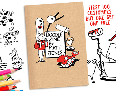 Doodle Zine by Matt Jones