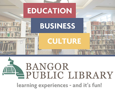 Bangor Public Library Rack Card