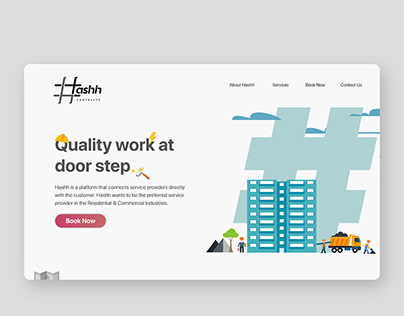 Hashh Web UI design