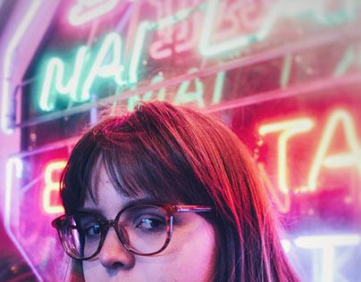 Neon Portrait Studies - Nov 2017