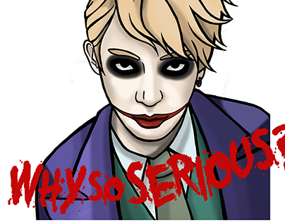 Why So Serious Projects Photos Videos Logos Illustrations And Branding On Behance