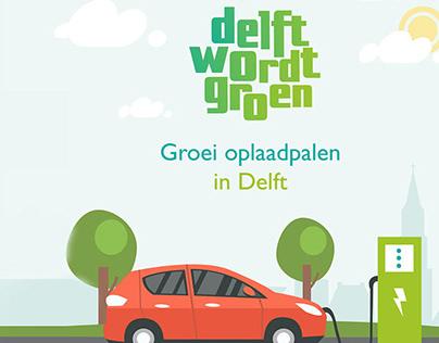Delft wordt groen | Animation