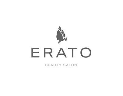 Logo Design Beauty Salon Erato