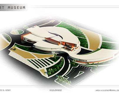 art museum by revit