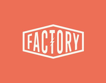 Factory - Coffee Shop Branding