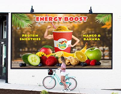 Fresh Juice Protein Smoothies