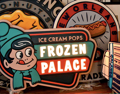 FROZEN PALACE AND SHOOTING DONUTS