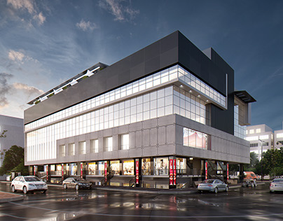 Visualization : Commercial Building