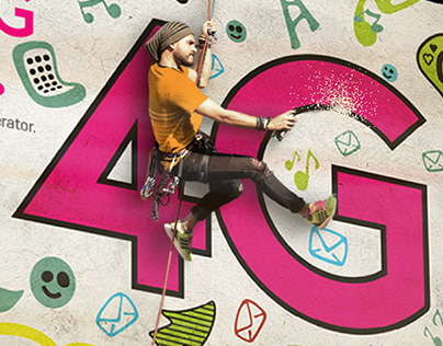 Zong 4G Thematic Outdoor Campaigns
