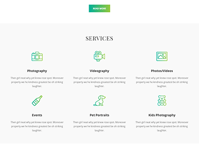 Service website | WordPress Blog website