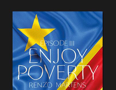 Enjoy Poverty Poster — LUCA School of Arts