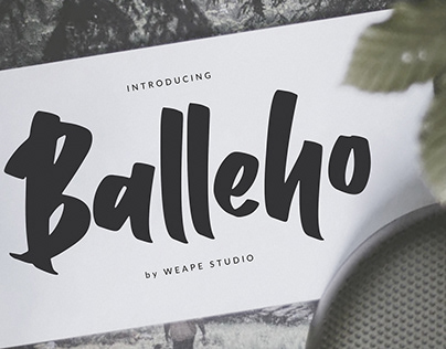 Balleho Font