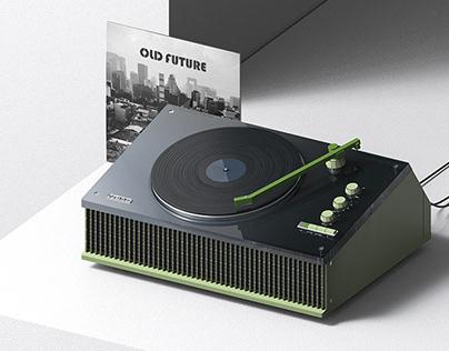 OLD FUTURE Turntable