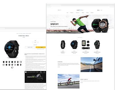 Garmin Uruguay Website