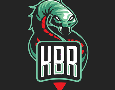 Kimonos BR | Snake Mascot logo