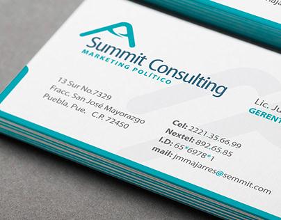 Diseño de marca | Summit Consulting