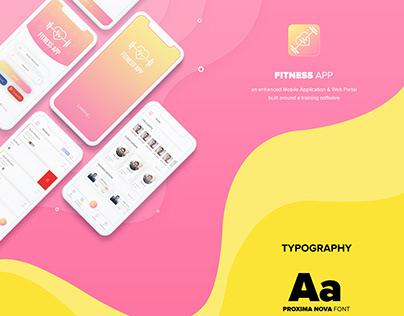 Fitness Trainer Mobile App