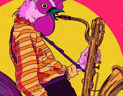 Jazz Festival- Poster Design