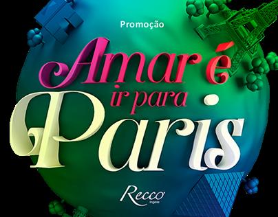 Amar é ir para Paris