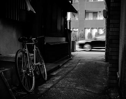 Nagahama,Japan B&W