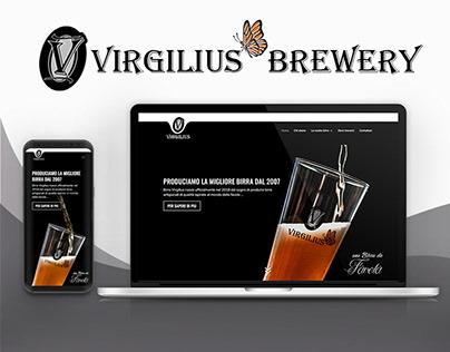 UI Design - Birra Virgilius Web site