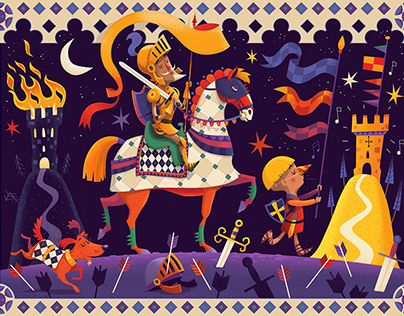 Don Quixote Puzzle
