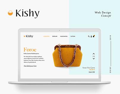 Kishy Web Site Concept