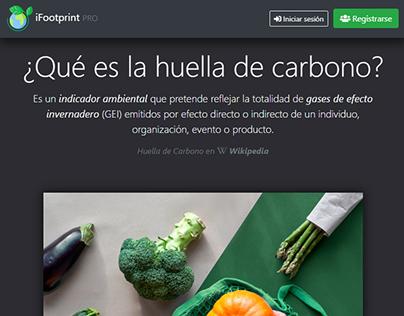 Aplicación web: Calculadora de impacto ambiental