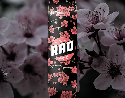 Graphics for The Rad Board Co.