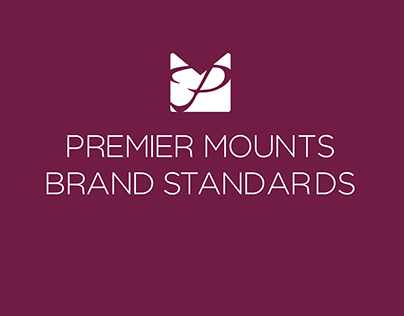 Premier Mounts Brand Standards Guide