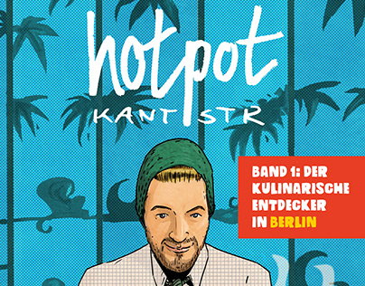 Comic-Restaurant-Guide HotPot Kantstr. Berlin