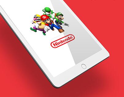 App design concept // Nintendo