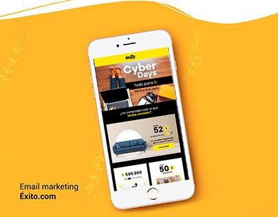 Email marketing - Éxito.com