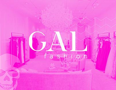 GAL Fashion Branding, Website & Social Media
