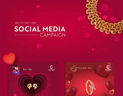 Gulf Gold | Valentine's Day Social Media Campaign
