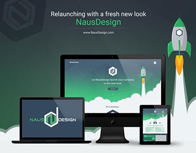 NausDesign re-design