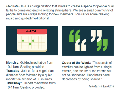 Meditate On It - Responsive Email Design